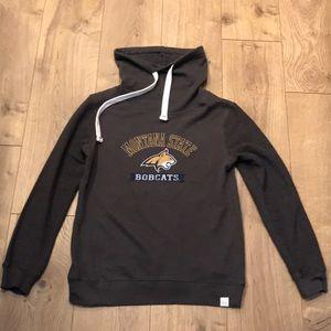 Montana State Bobcats funnel neck sweatshirt